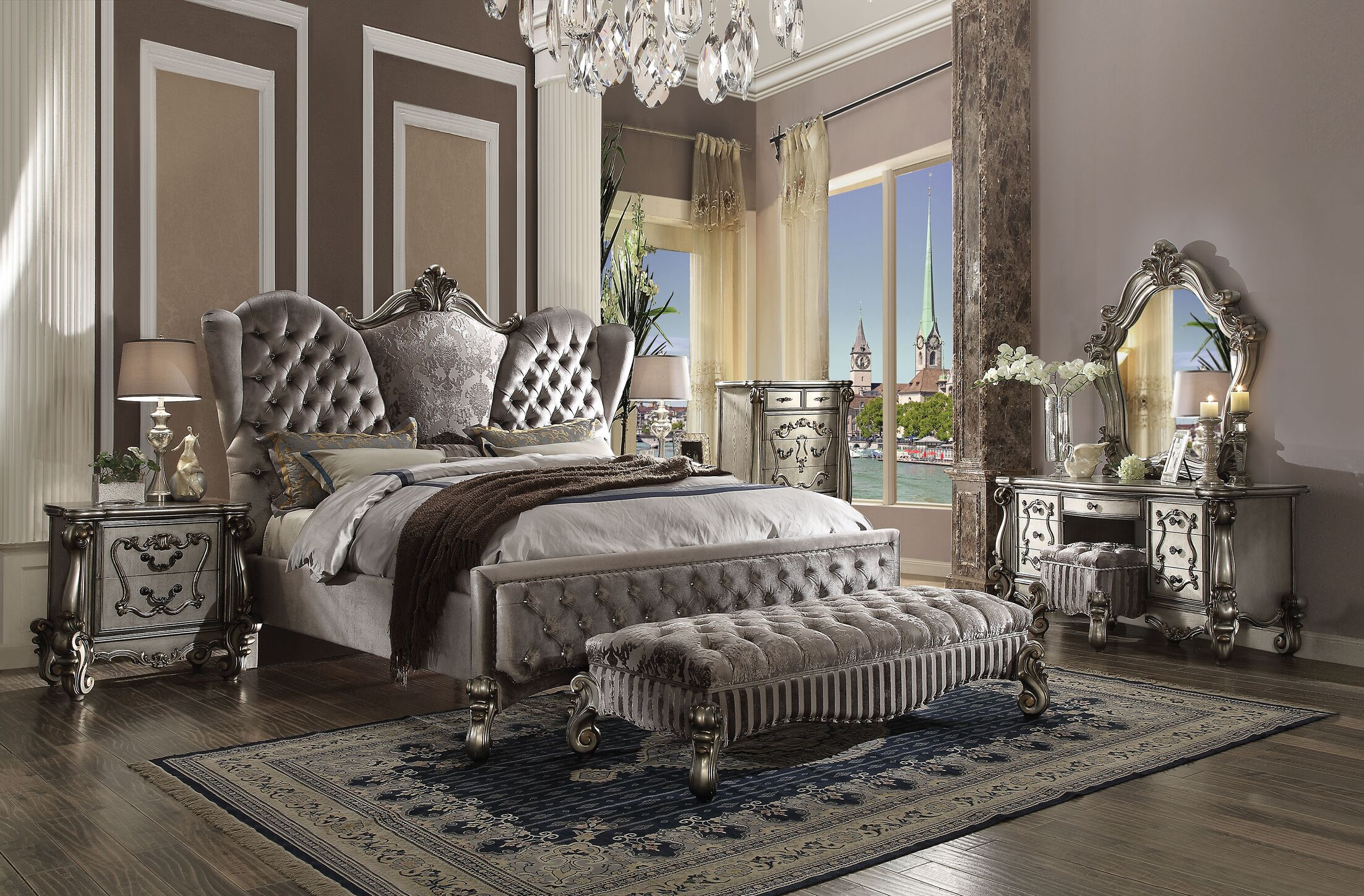 Malmberg Panel Bed Size: Queen