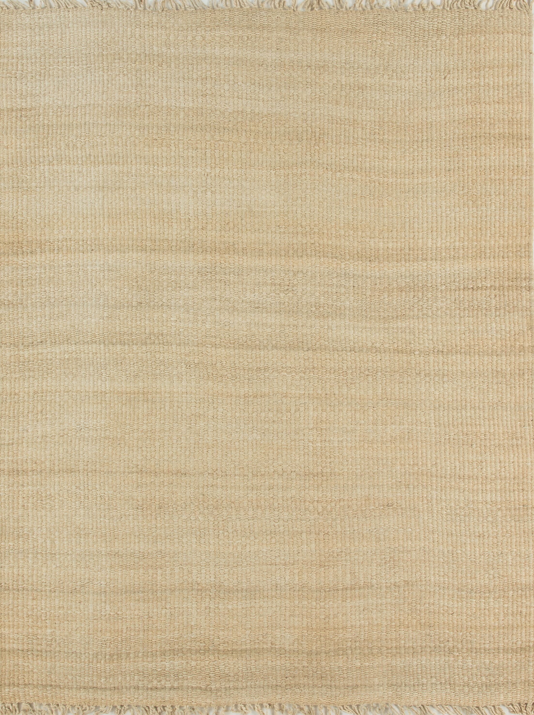 Hand-Woven Bleached Area Rug Rug Size: Rectangle 7'6