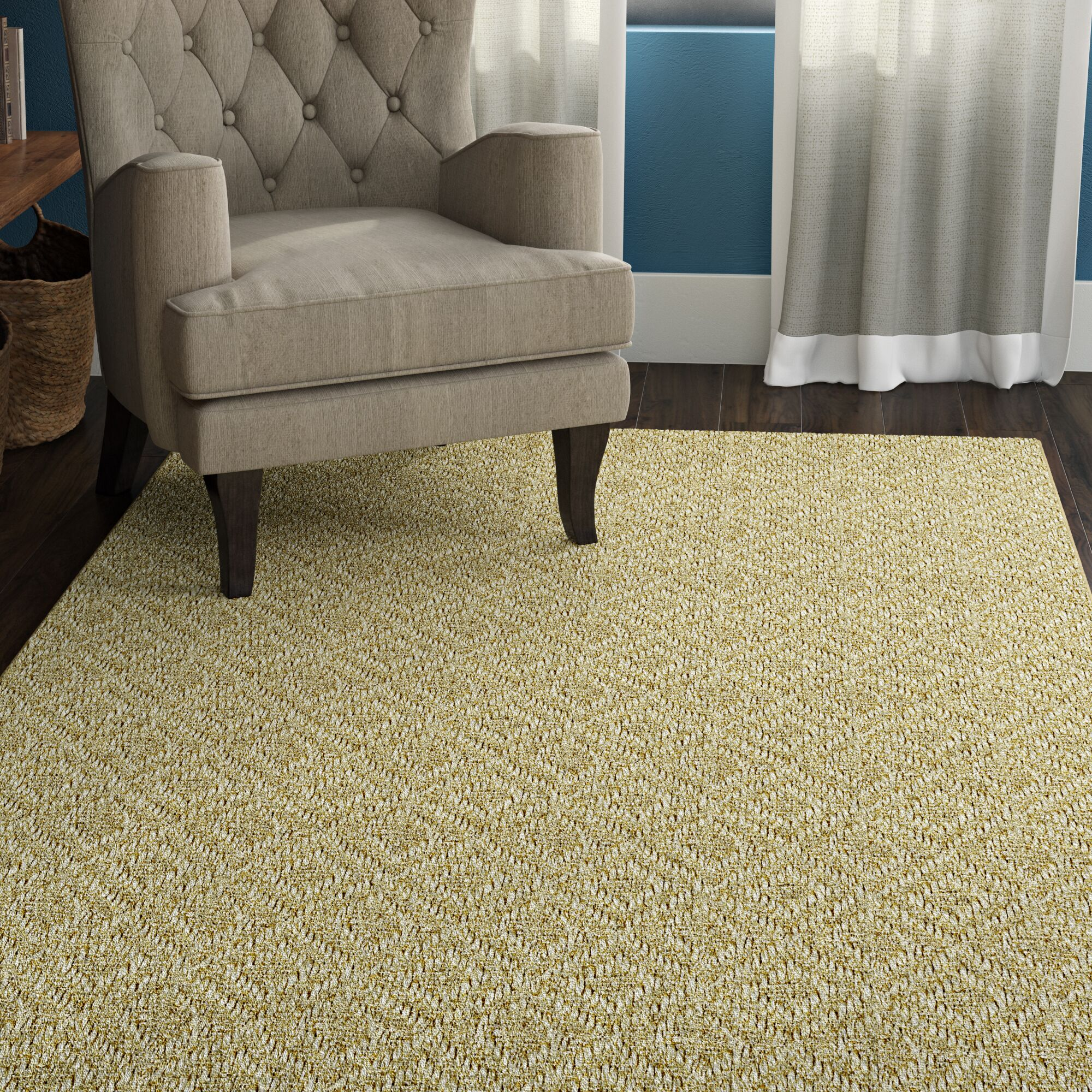 Palmyre Natural Area Rug Rug Size: 8' x 10'