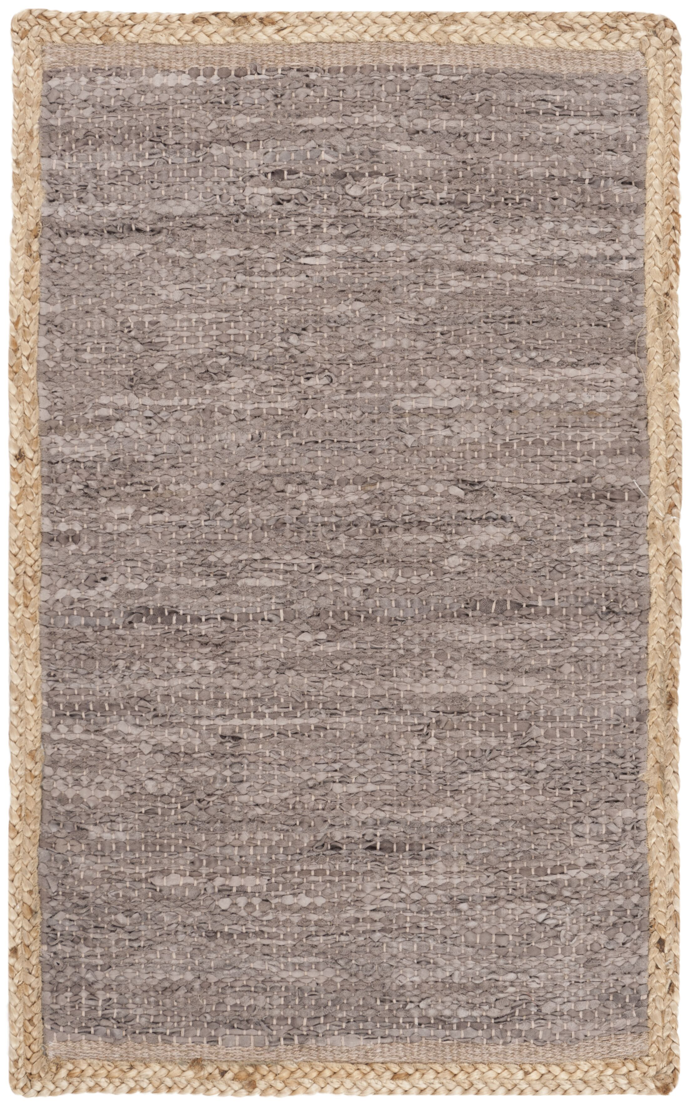 Church Hand-Woven Brown Area Rug Rug Size: Rectangle 8' x 10'