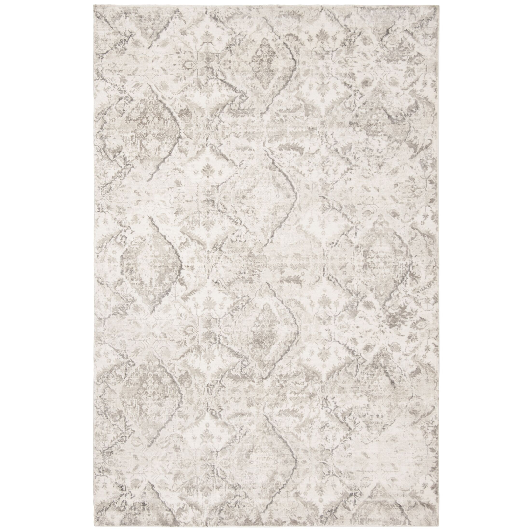 Pumphrey Gray Area Rug Rug Size: Rectangle 6' x 9'