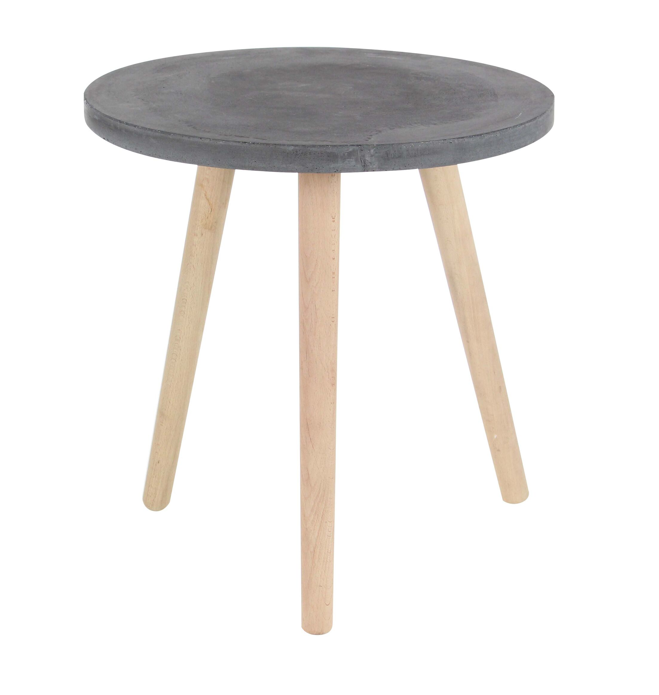 Shafter Fiberclay End Table Color: Black