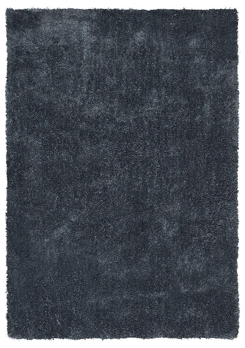 Montemayor Blue Area Rug Rug Size: Round 7'6