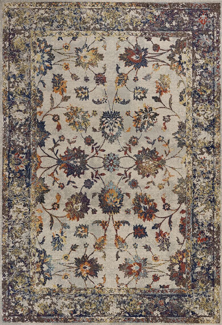Cruce Gray Area Rug Rug Size: Rectangle 7'10