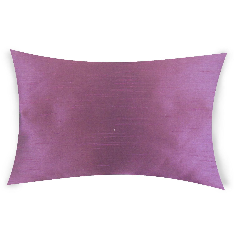 Hawtree Lumbar Pillow Color: Purple