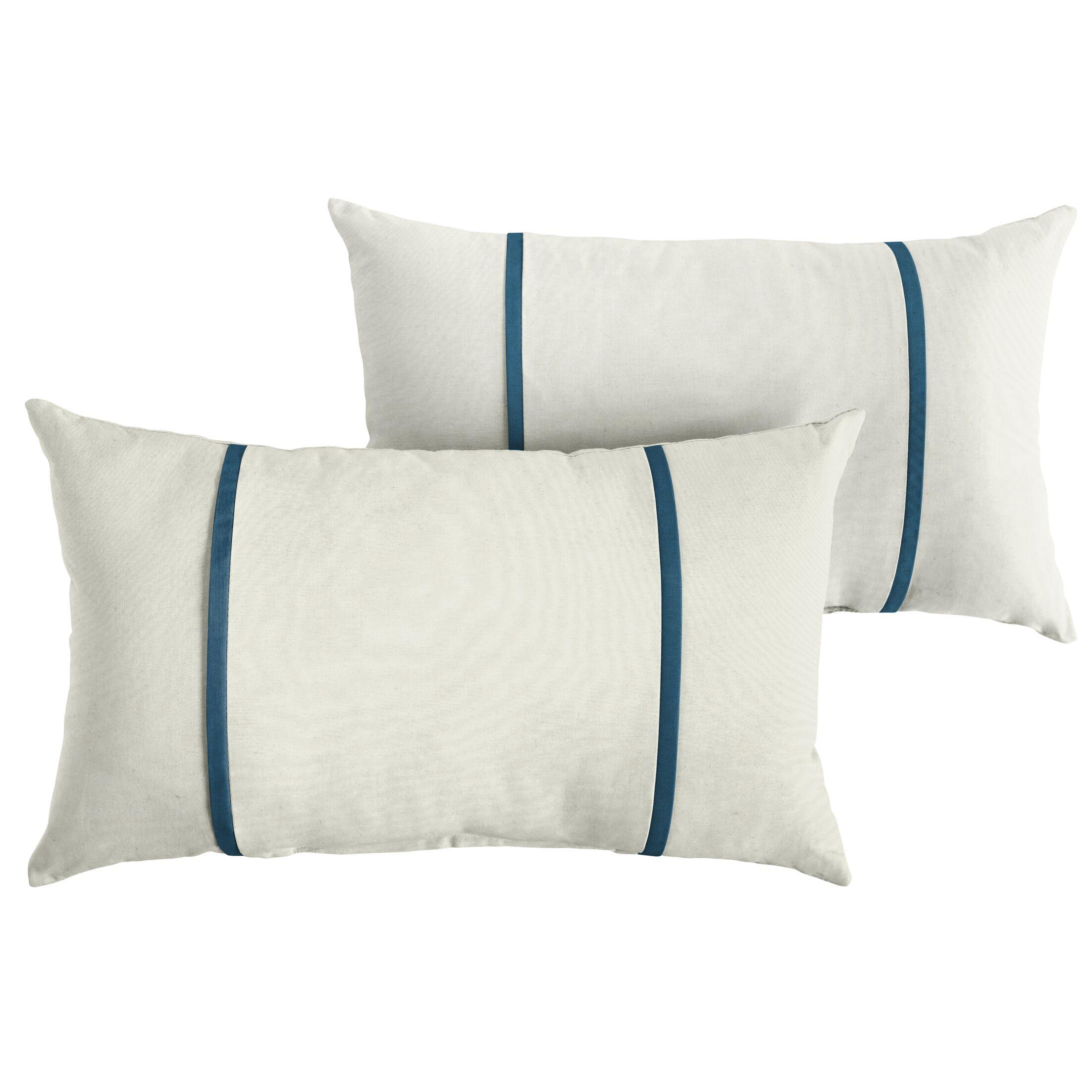 Claar Indoor/Outdoor Sunbrella Lumbar Pillow