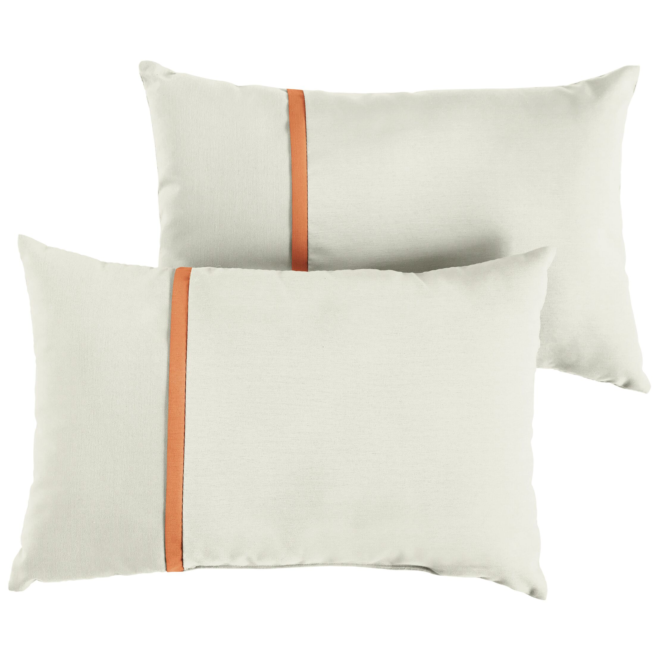 Folger Indoor/Outdoor Sunbrella Lumbar Pillow Size: 12