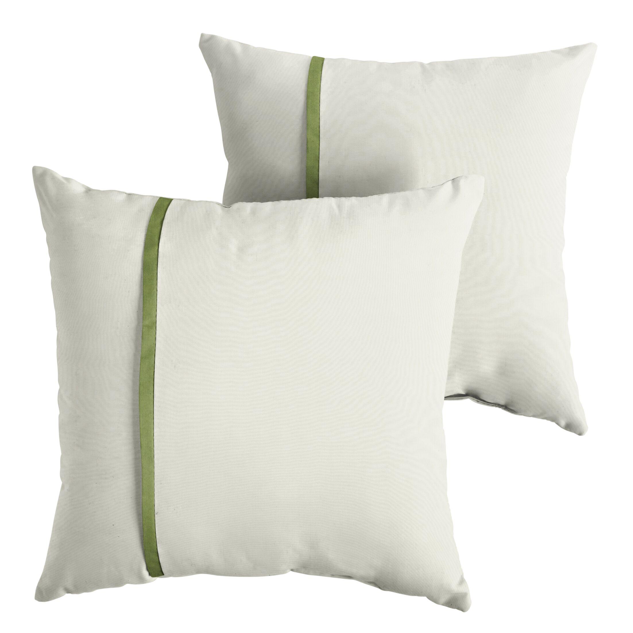 Forsberg Indoor/Outdoor Sunbrella Throw Pillow Size: 22