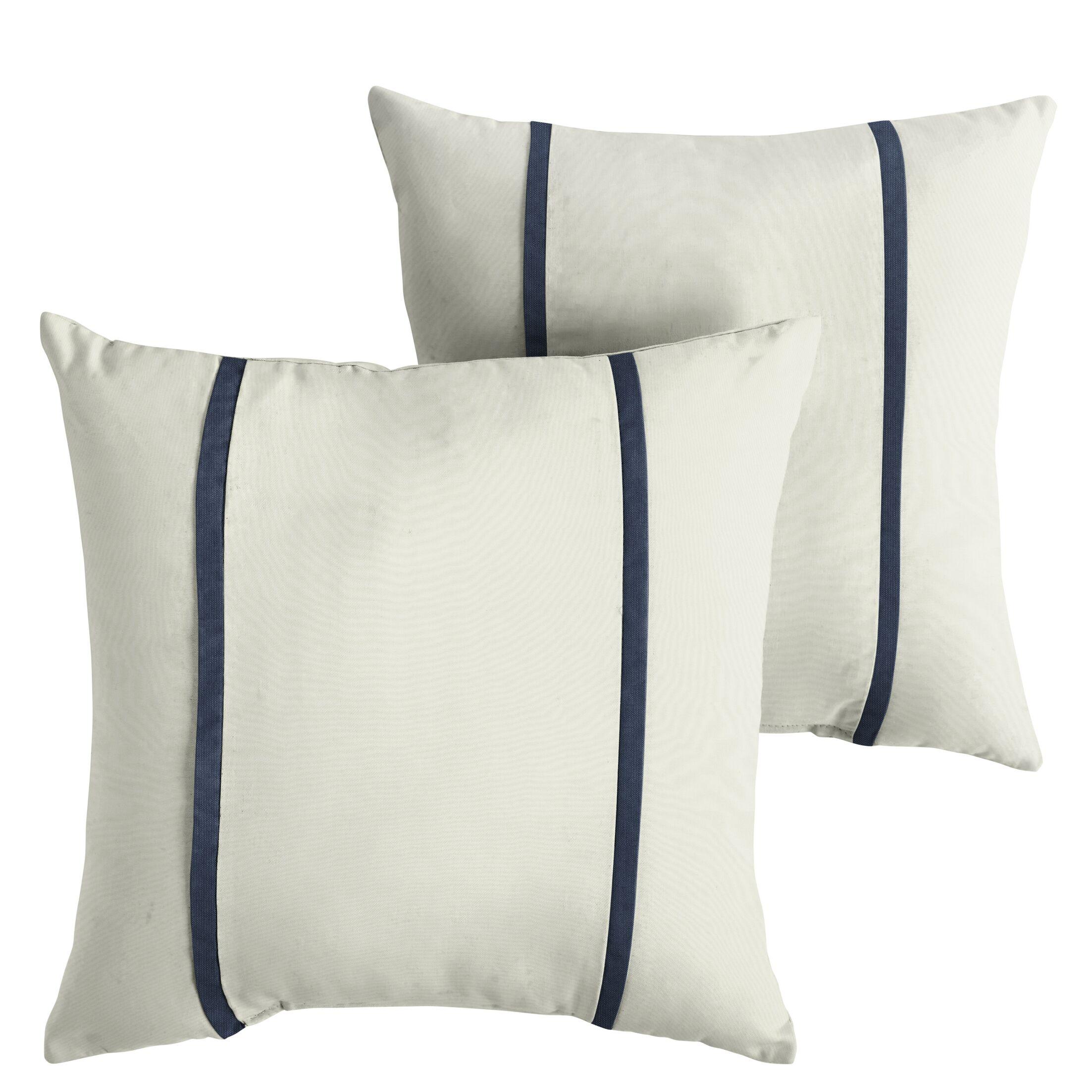 Holle Indoor/Outdoor Sunbrella Throw Pillow Size: 22