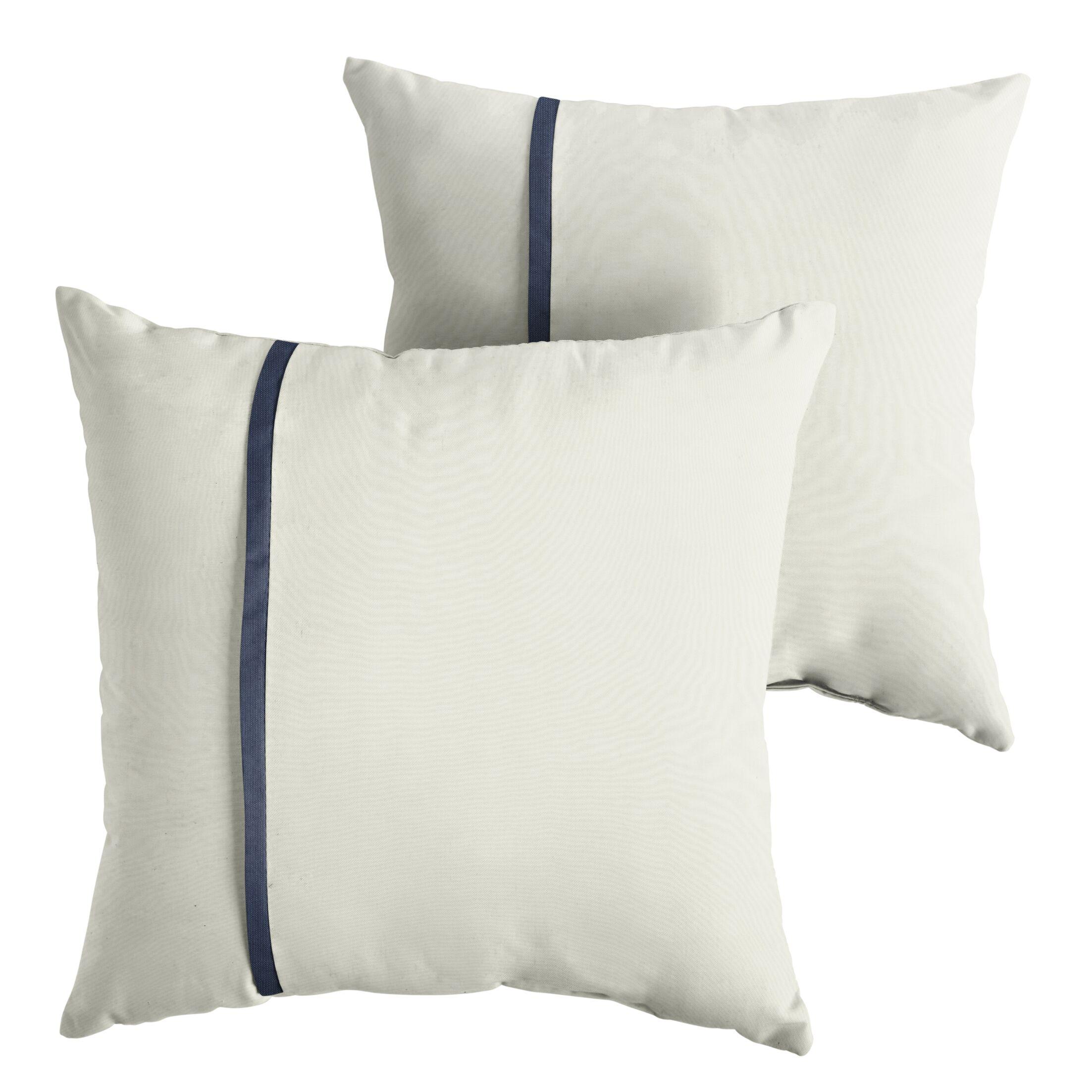 Forbell  Indoor/Outdoor Sunbrella Throw Pillow Size: 22