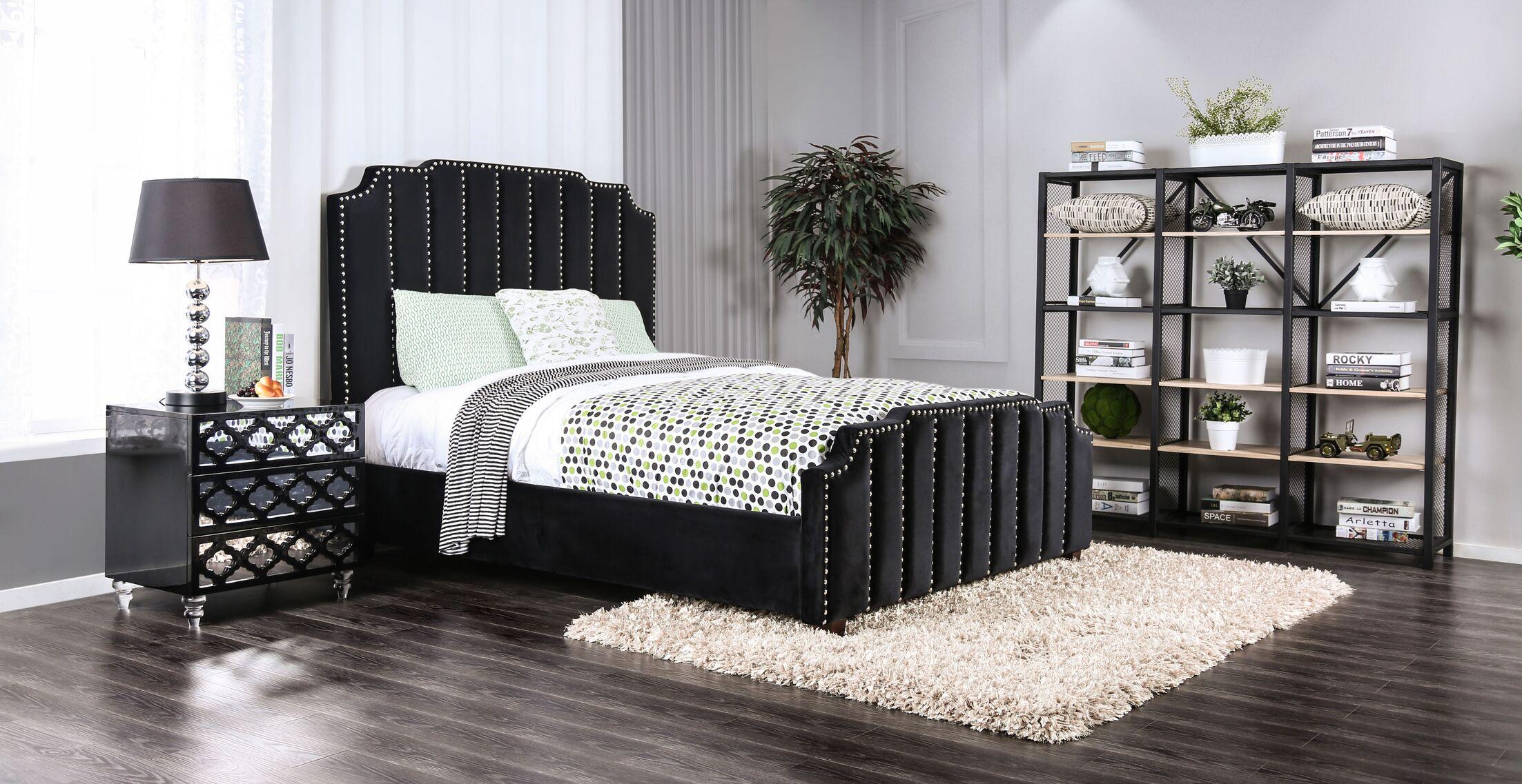 Mcdorman Upholstered Panel Bed