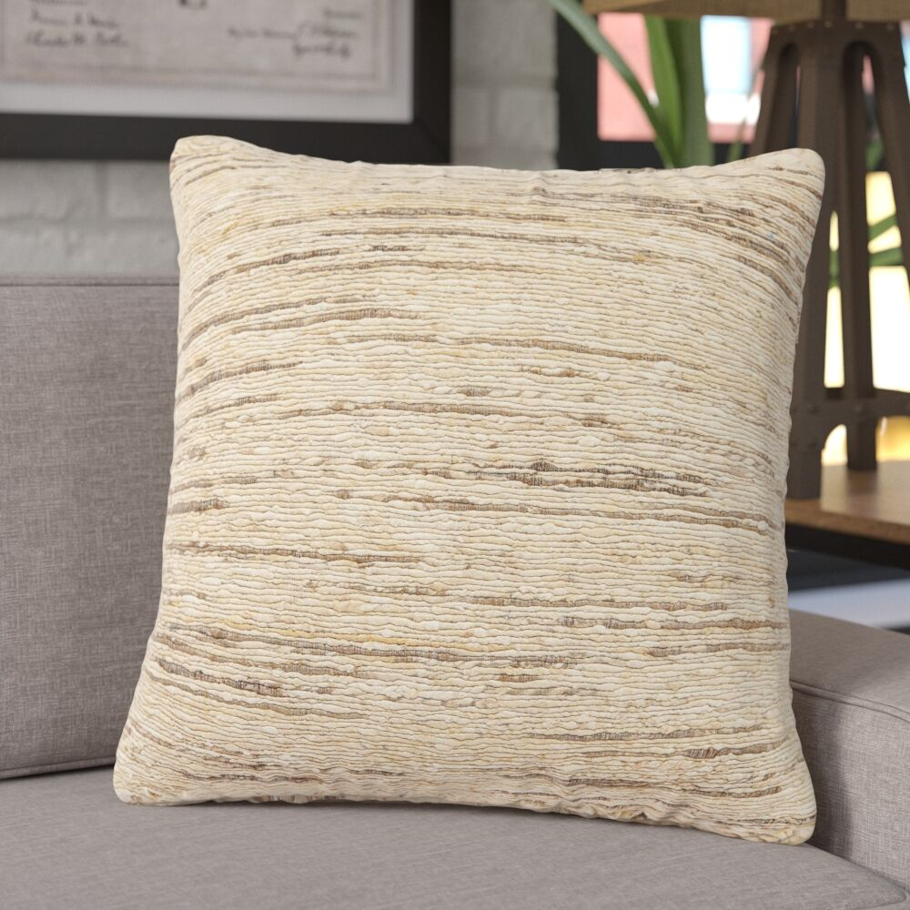 Ariana Silk Throw Pillow Fill Material: Down/Feather