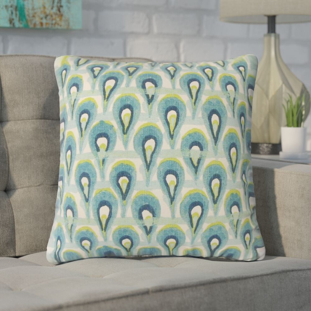 Xanthe Geometric Cotton Throw Pillow