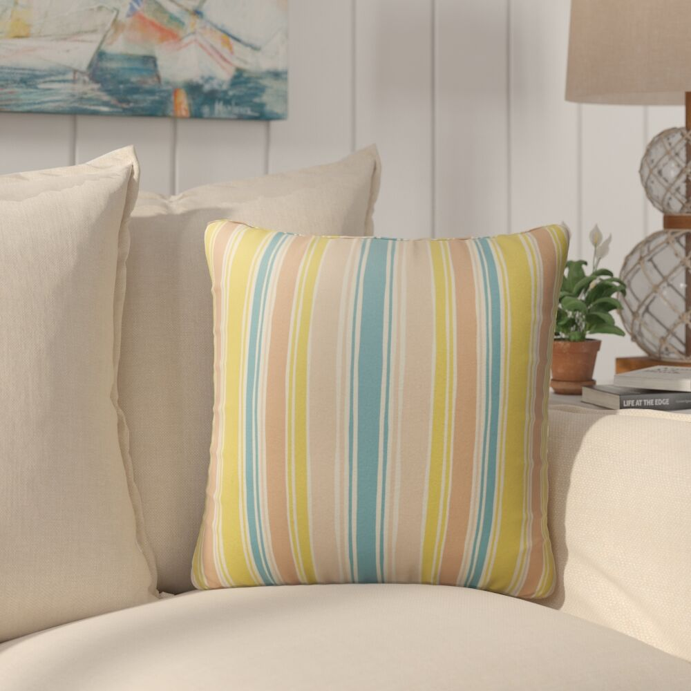 Rima Outdoor Throw Pillow Size: 26