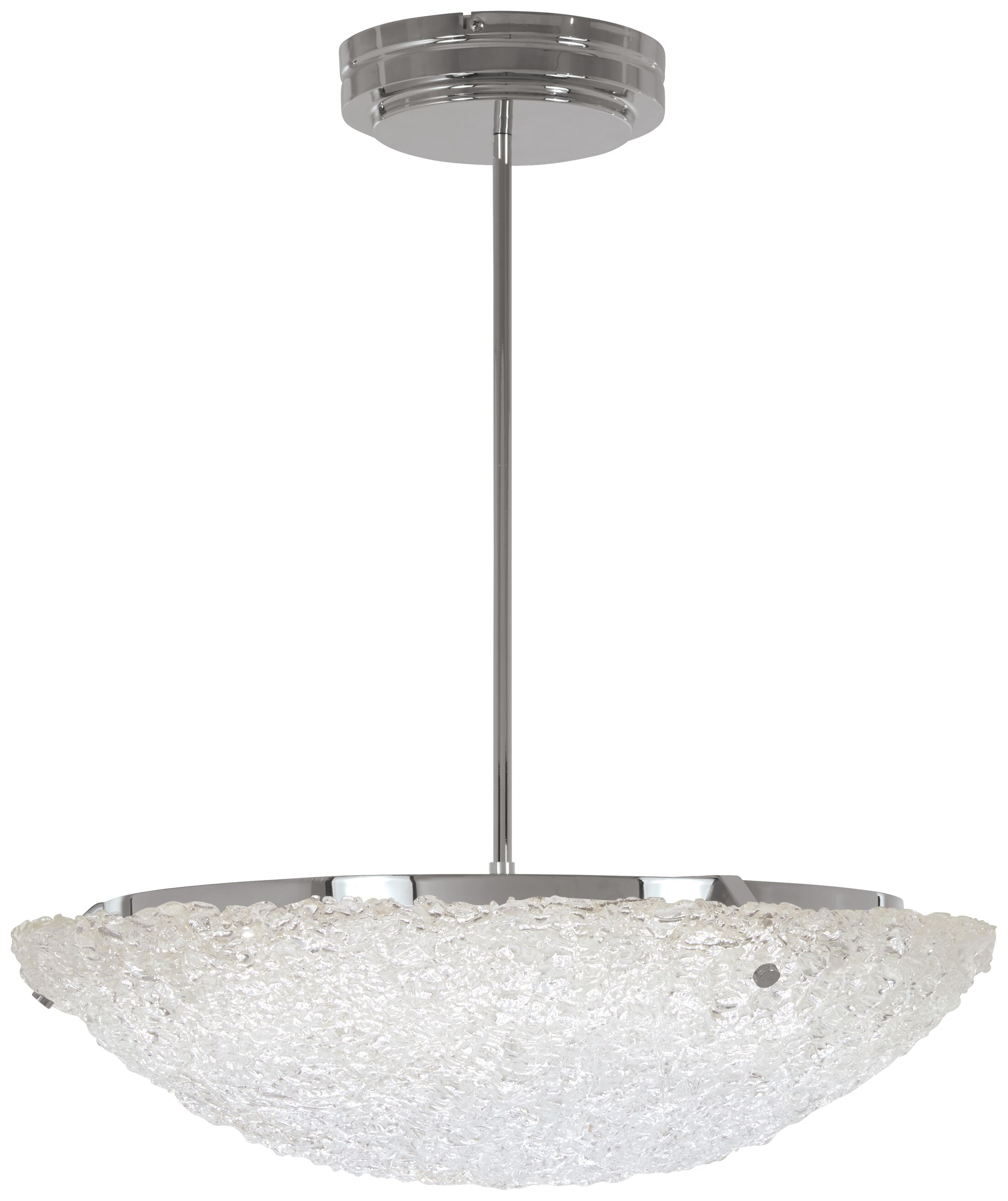 Glatt 1-Light Bowl Pendant
