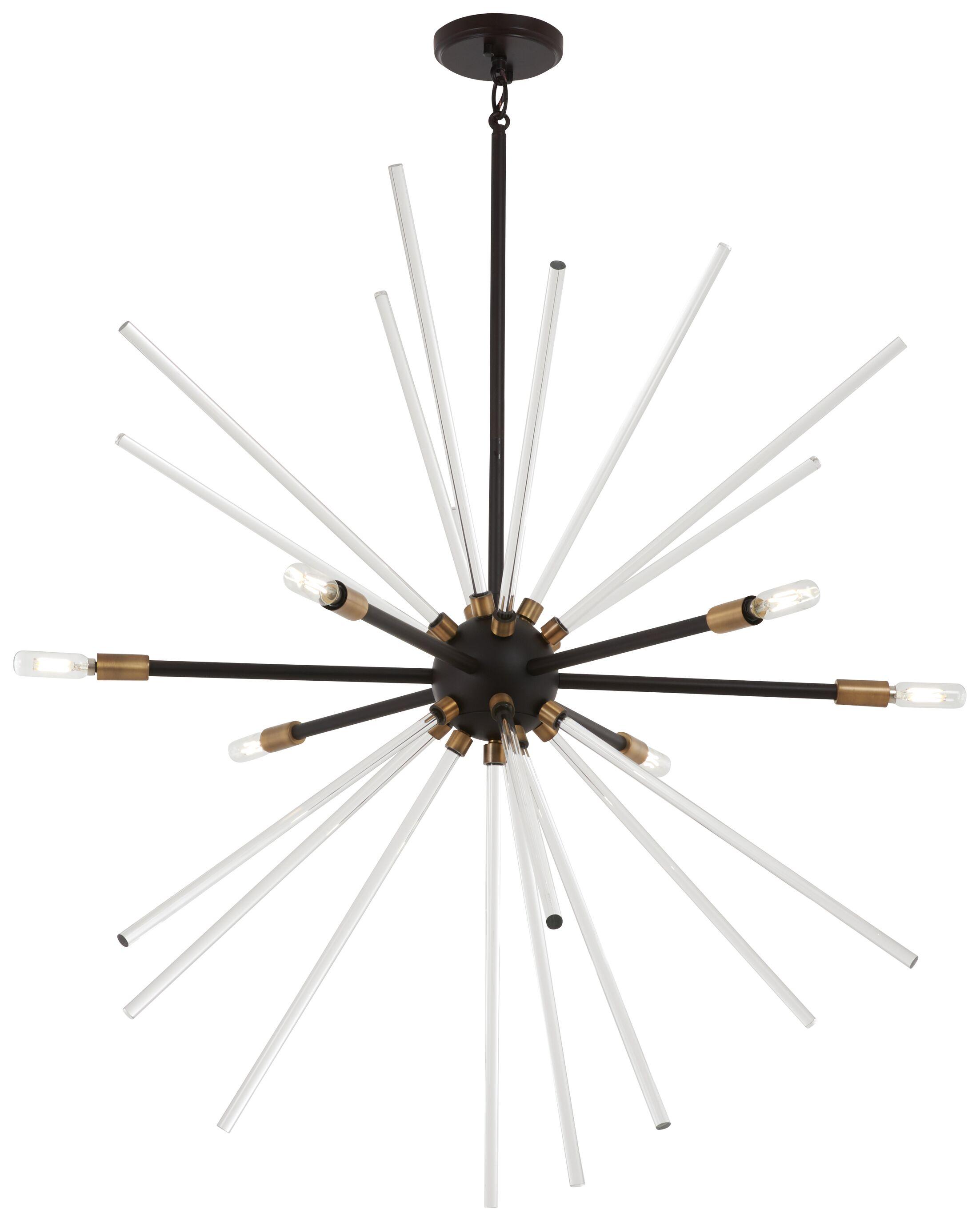 Bower 6-Light Chandelier Size: 36.5