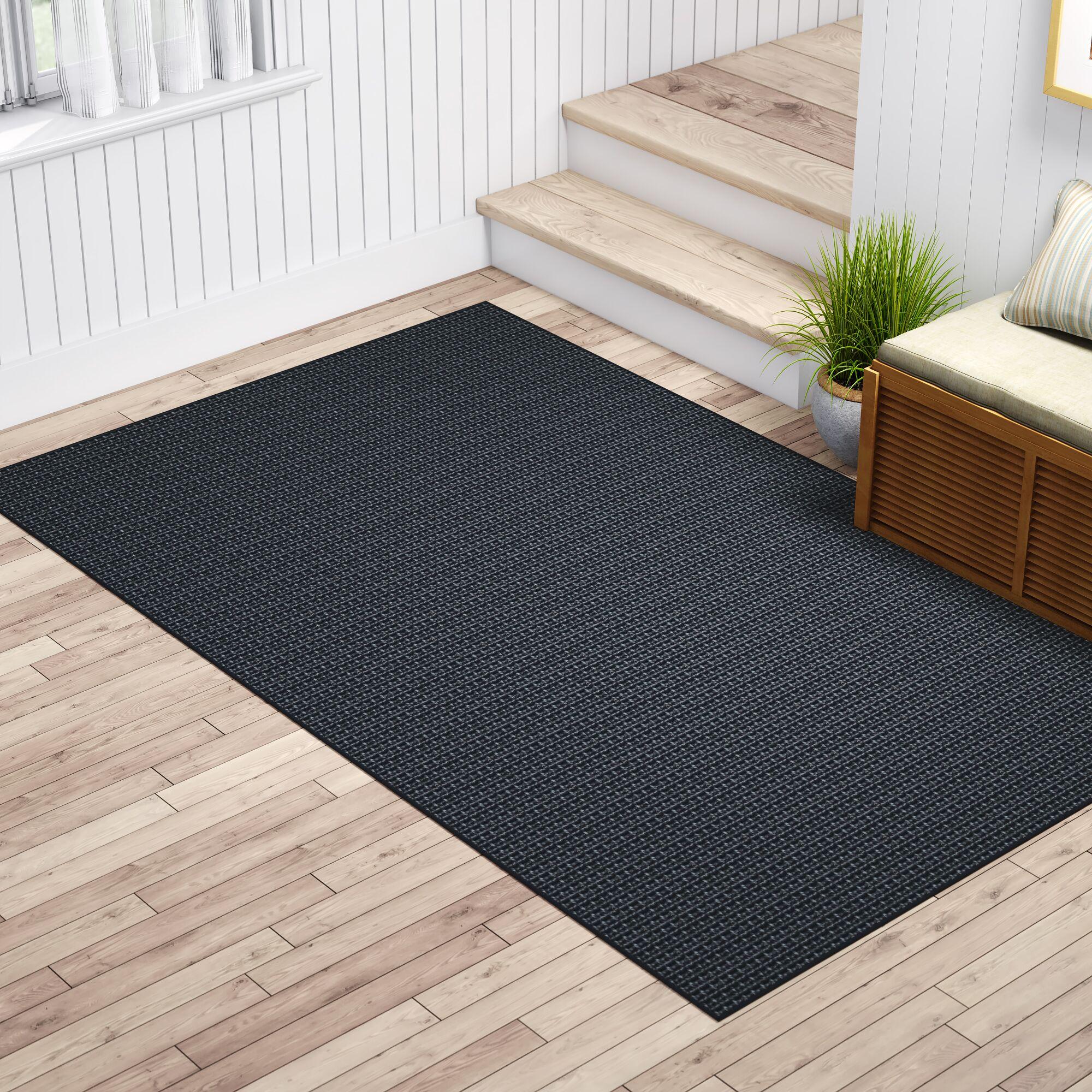 Waverly Black Area Rug Rug Size: 8' x 10'