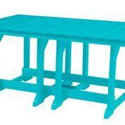Patricia Dining Table Color: Aruba