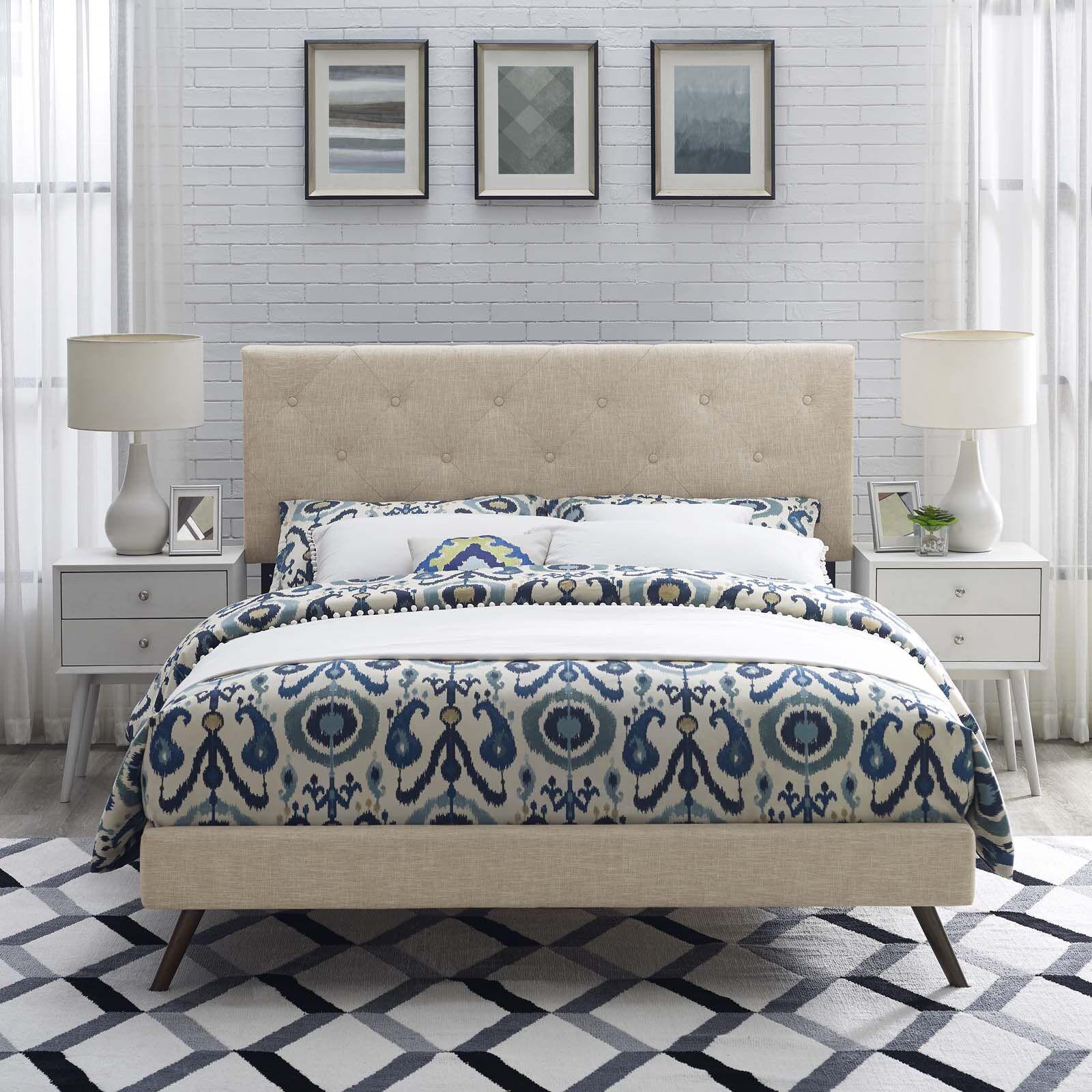 Perrinton Upholstered Platform Bed Size: King