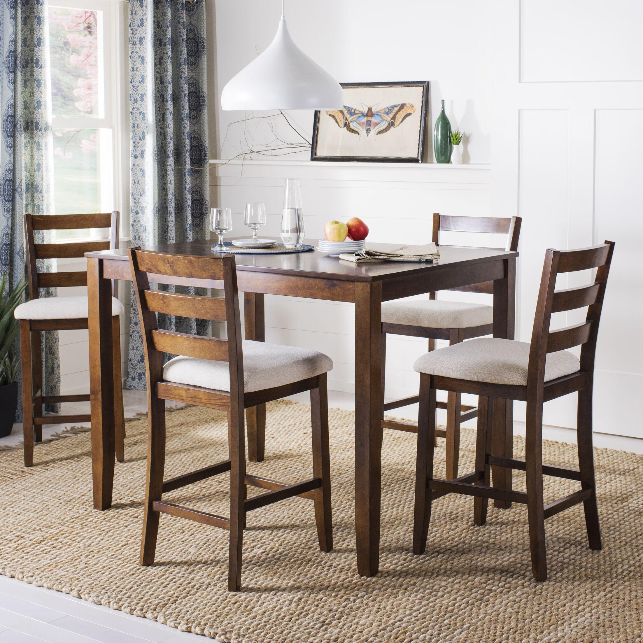 Hervey Bay 5 Piece Pub Table Set