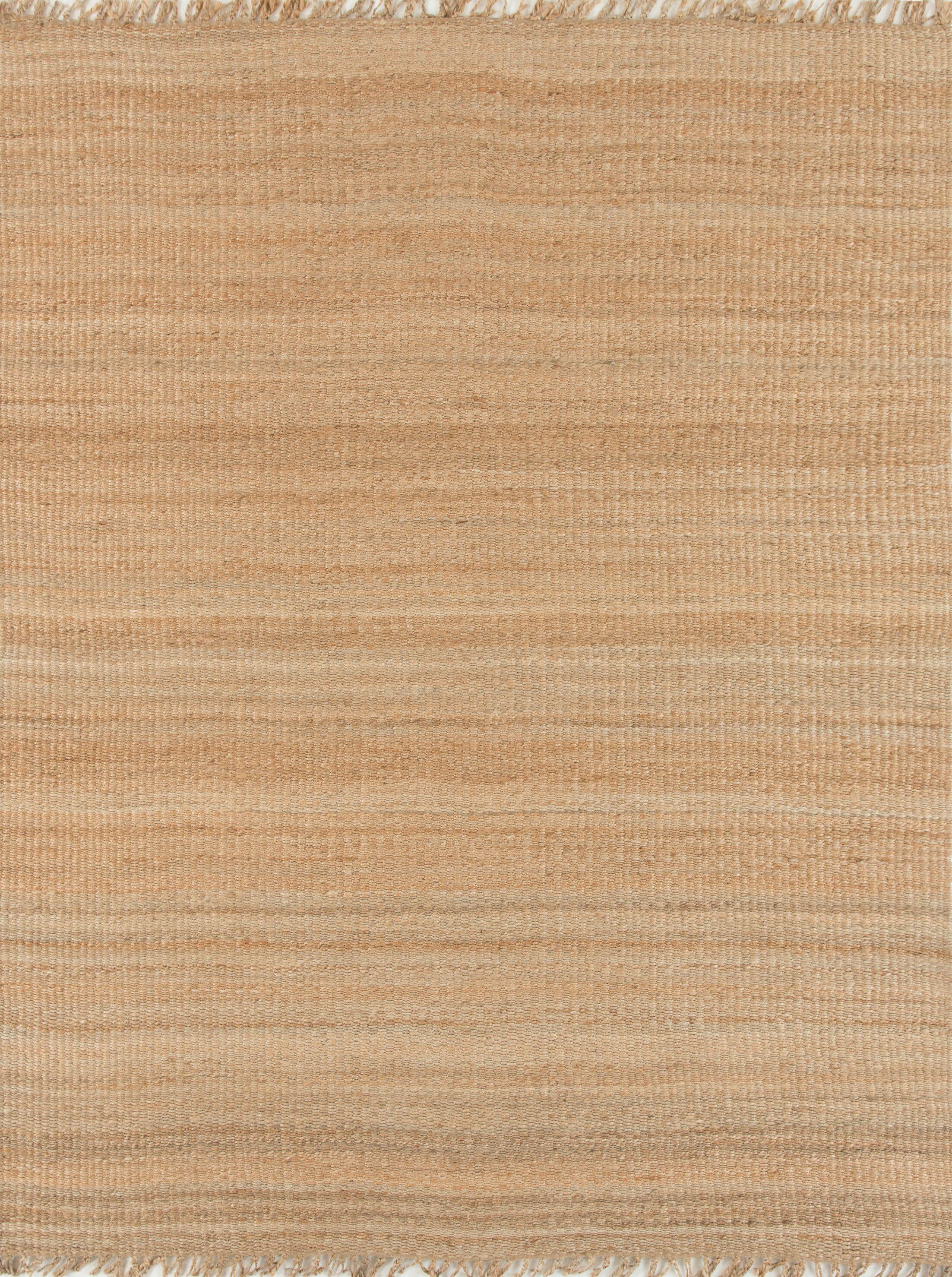 Hanlin Hand-Woven Brown Area Rug Rug Size: Rectangle 9' x 13'