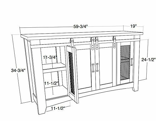 Frausto Media Console TV Stand Width: 60