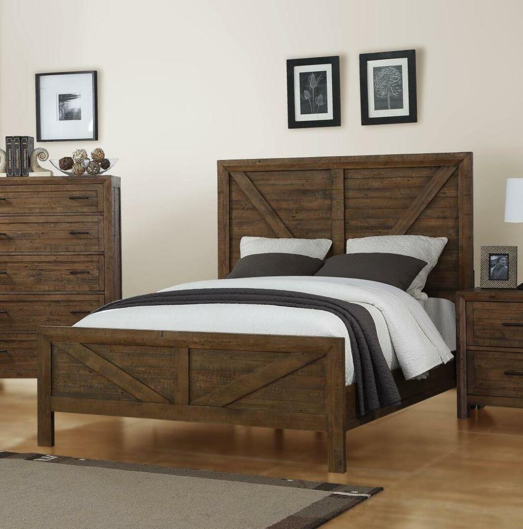 Mccart Panel Bed Size: King