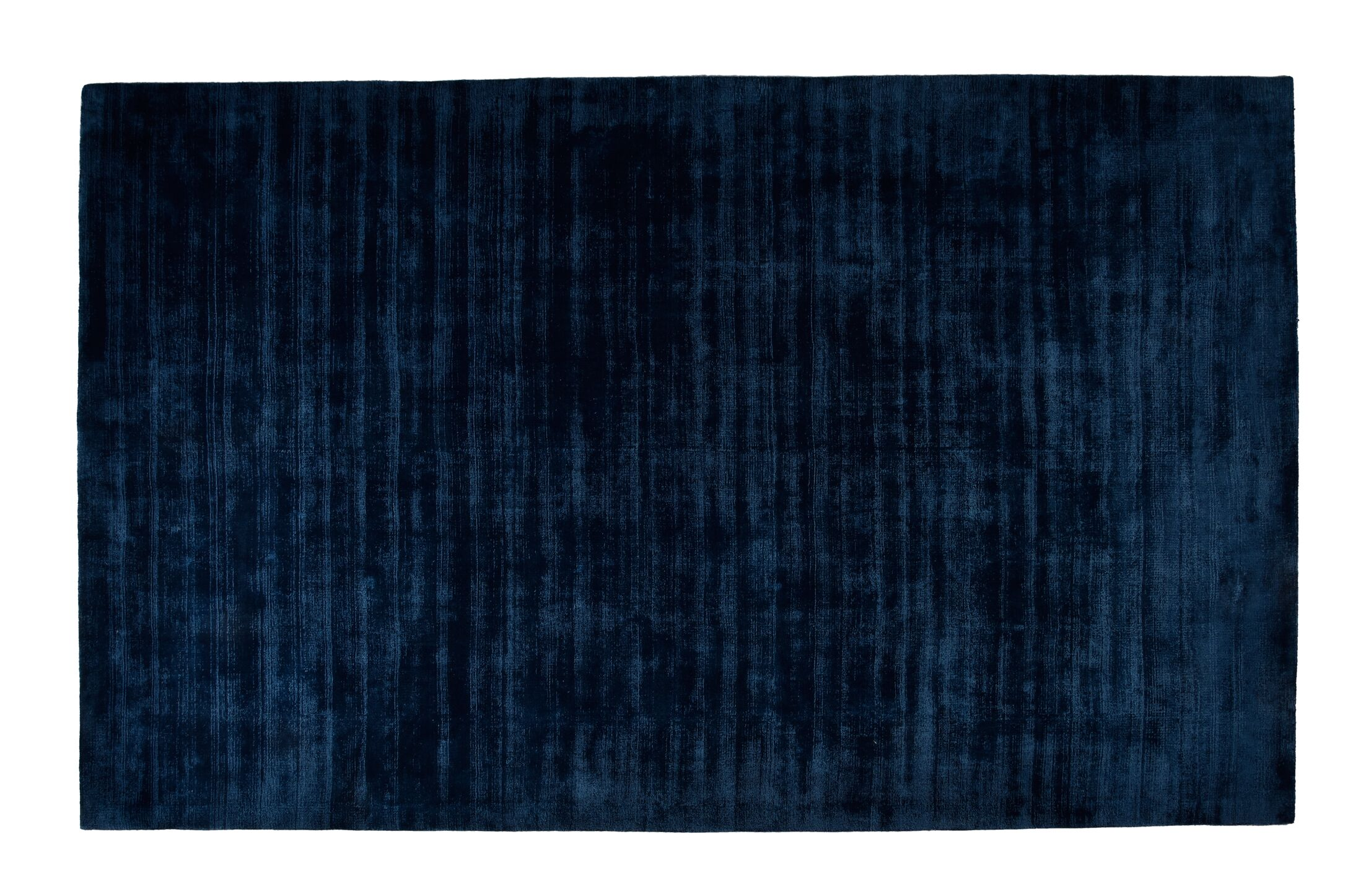 Pressley Hand-Woven Wool Teal Area Rug Rug Size: Rectangle 8'x 10'
