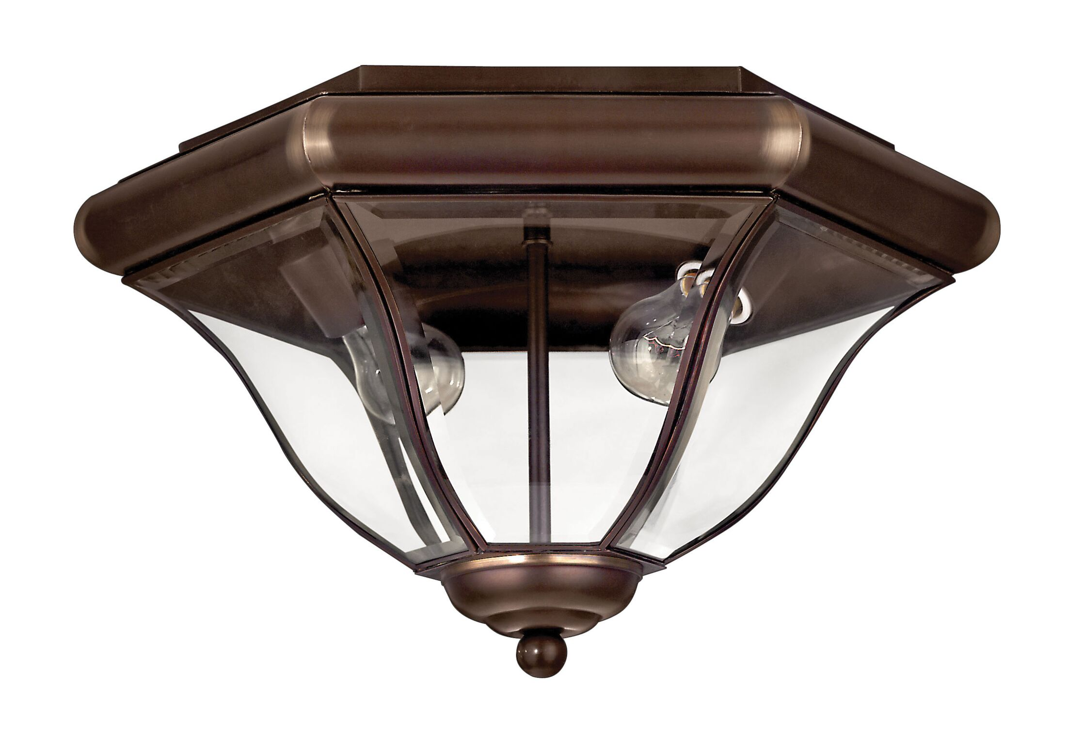 San Clemente 2-Light Flush Mount Finish: Copper Bronze