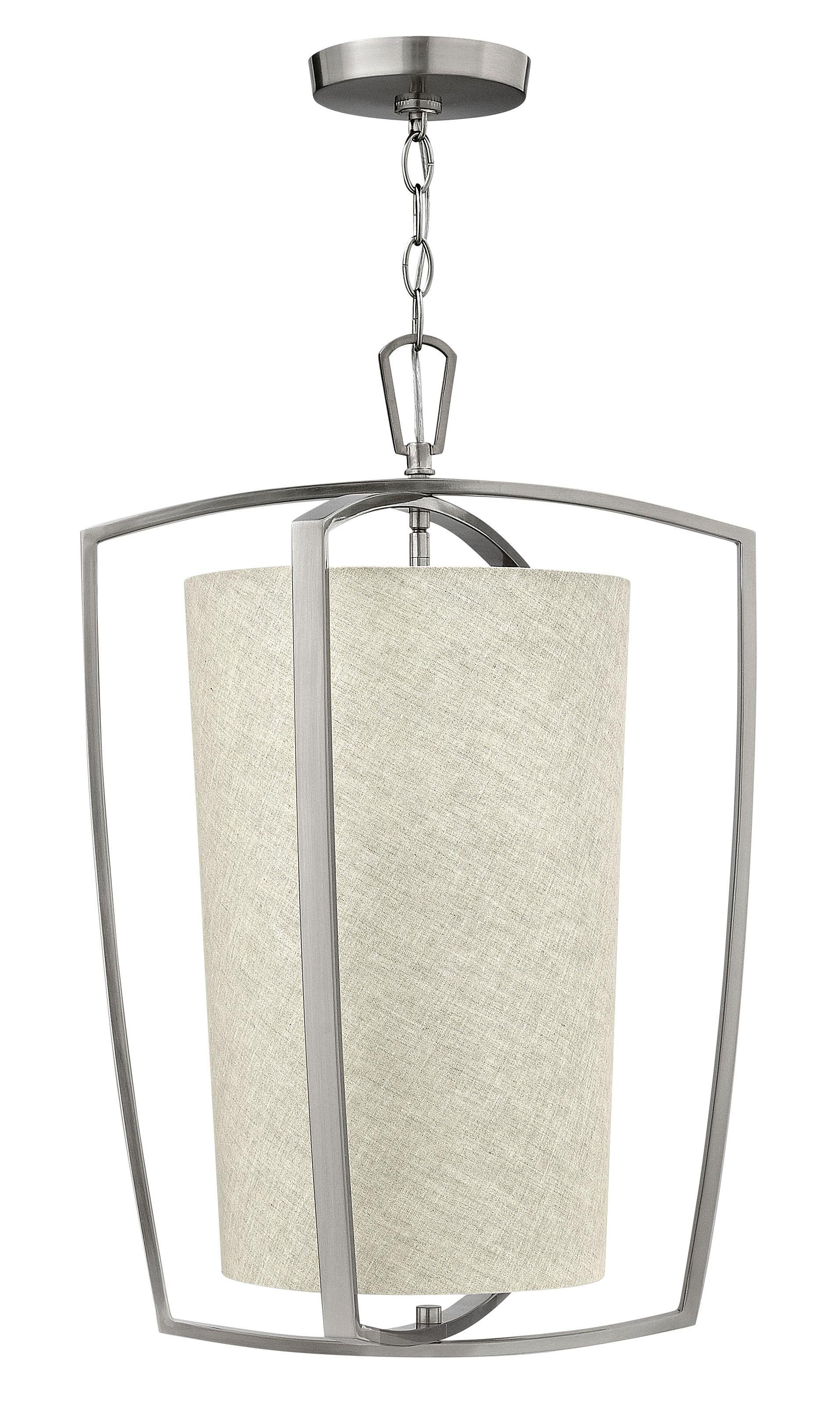 Blakely 3-Light Pendant Finish: Brushed Nickel