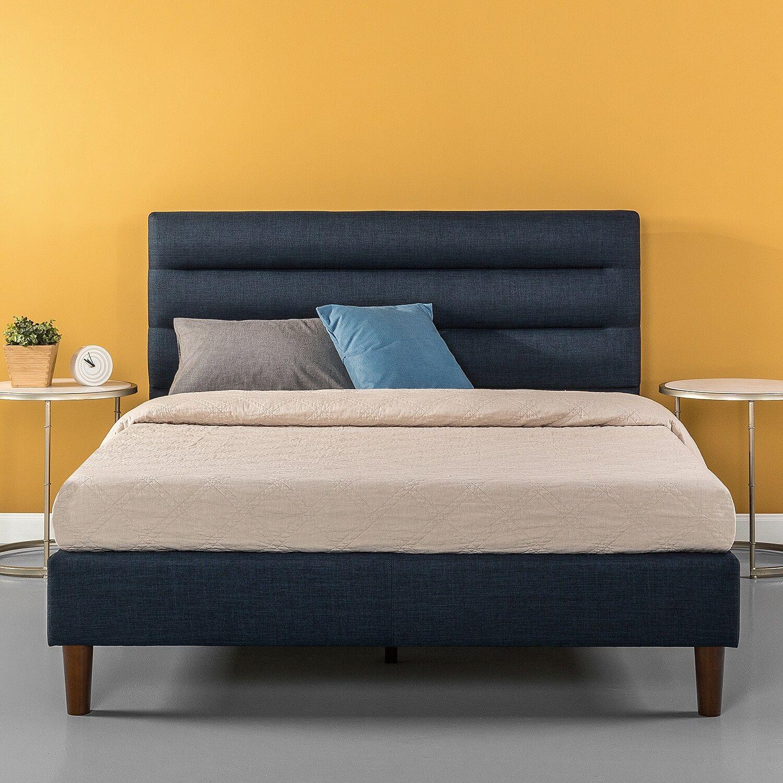 Waldschmidt Upholstered Platform Bed Size: King