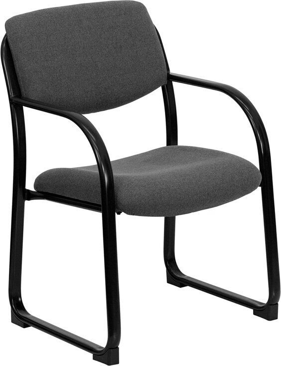 Kruger Executive Guest Chair Seat Color: Gray