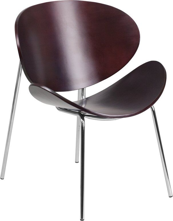 Crotts Bentwood Guest Chair Seat Color: Mahogany