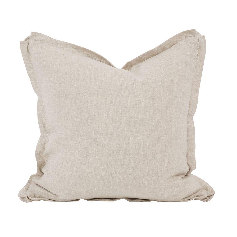 Cracraft Slub Linen Throw Pillow Size: 20