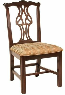 Dining Chair Upholstery Color: Howdy Taupe, Frame Color: English Oak