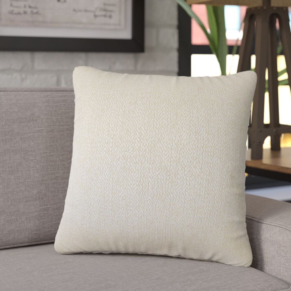 Tanuja Woven Down Filled 100% Cotton Throw Pillow Size: 24
