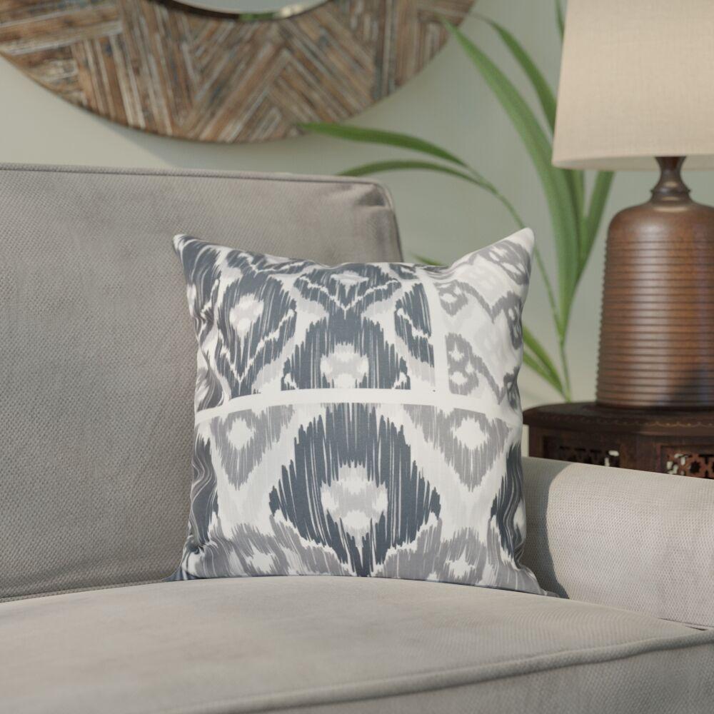 Meetinghouse Free Spirit Geometric Print Throw Pillow Size: 26