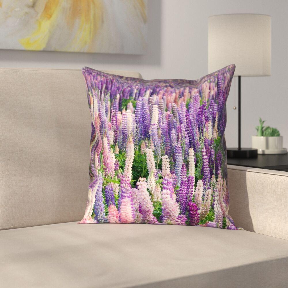 Joyeta Lavender Field Pillow Cover Size: 18