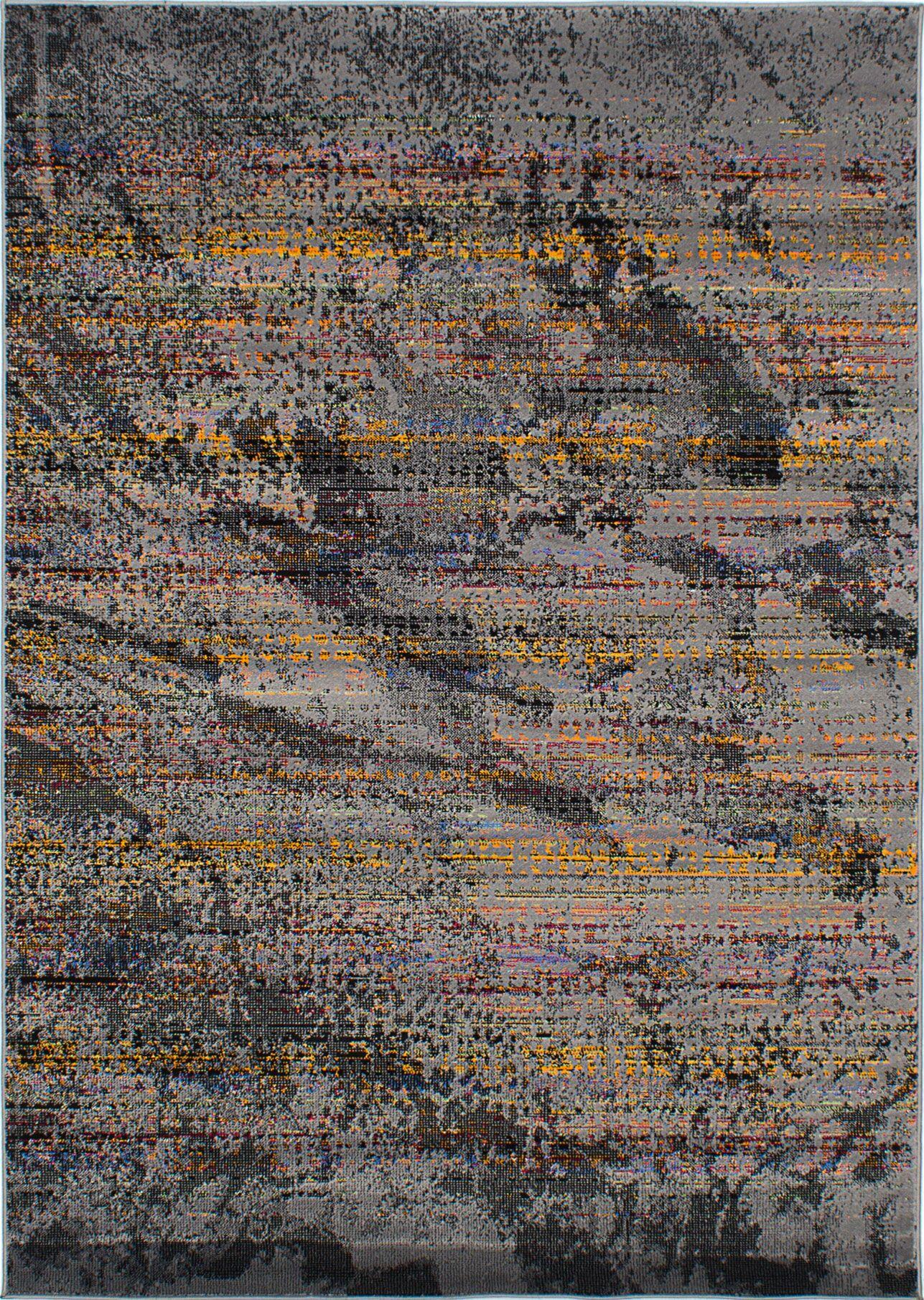 Duchene Dark Gray Area Rug