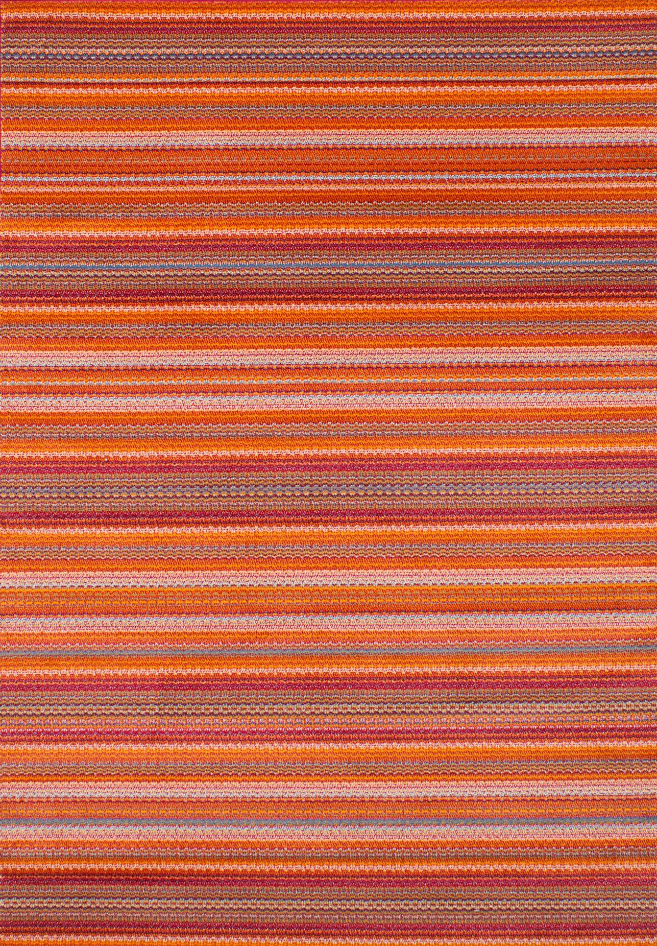 Griffeth Orange/Red Area Rug