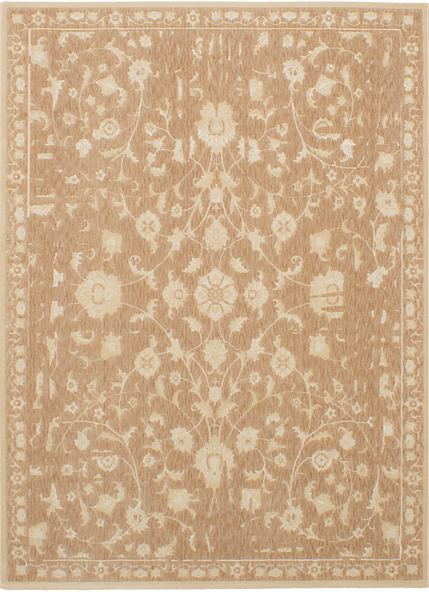 Himrod Beige Area Rug Rug Size: Rectangle 5'5