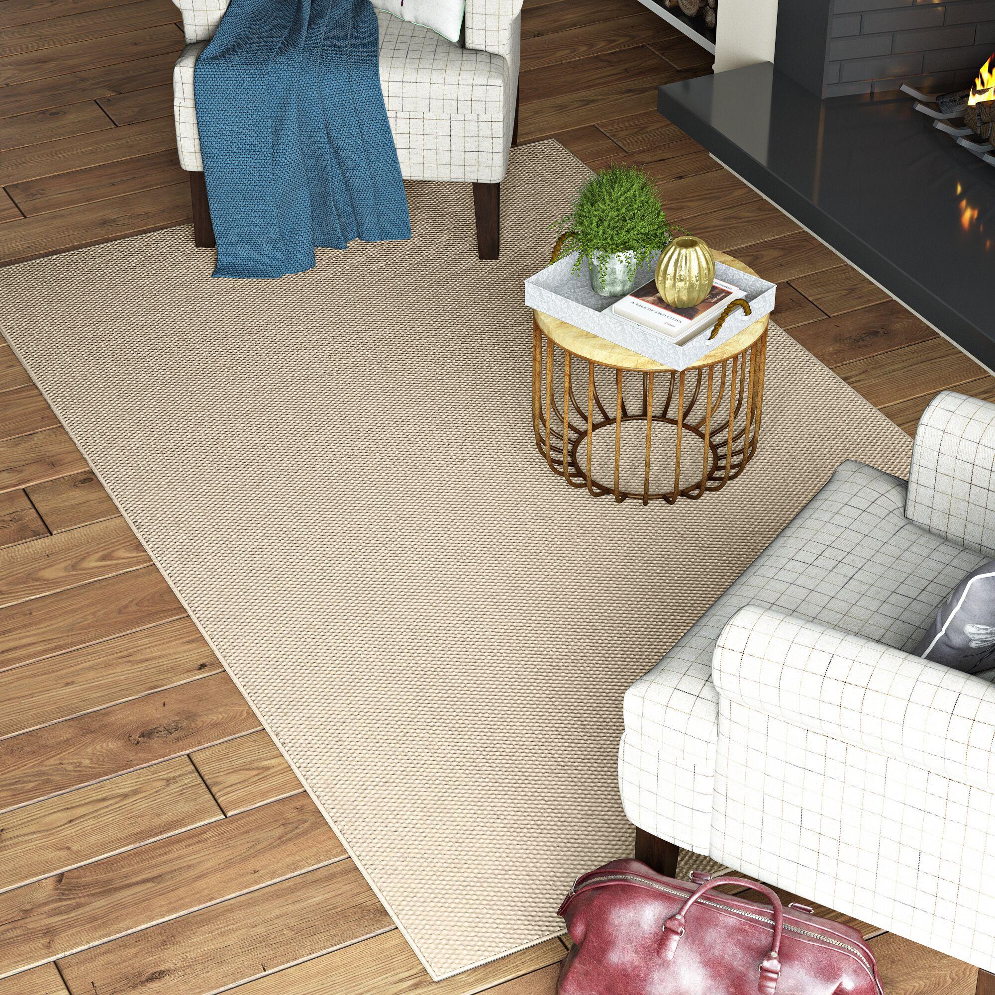 Paray Linen Area Rug Rug Size: 6' x 9'