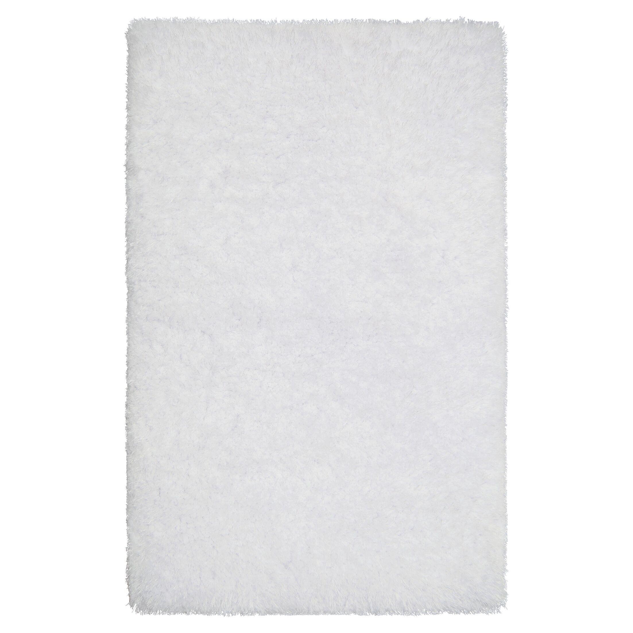 Nasim White Area Rug Rug Size: Rectangle 5' x 8'