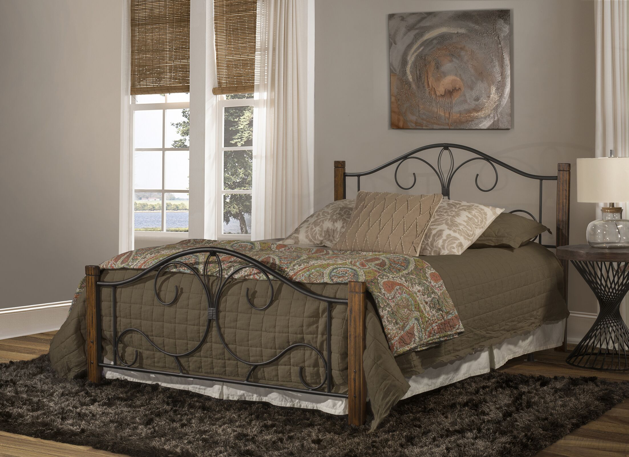 Claus Panel Headboard and Footboard Size: Twin