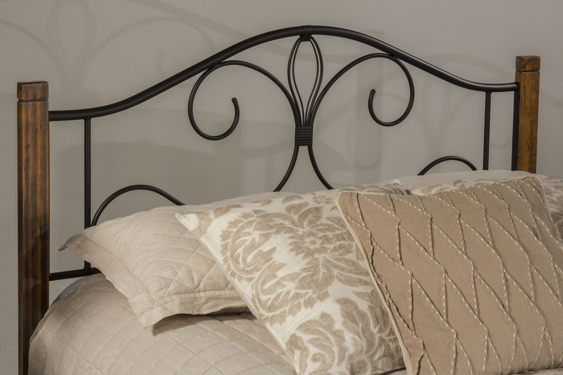 Claudio Twin Open-Frame Headboard
