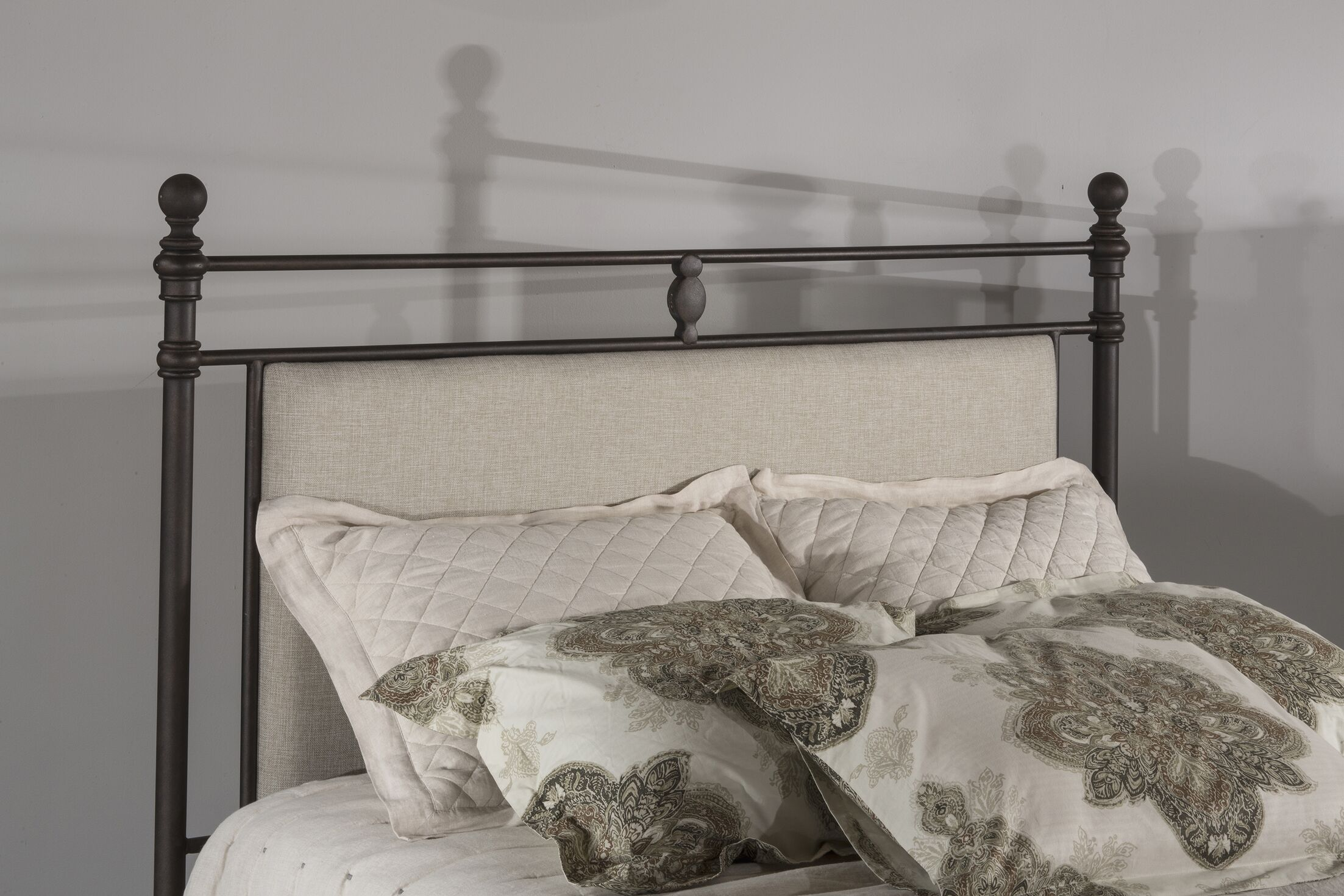 Colley-Critchlow Upholstered Panel Headboard Size: Queen