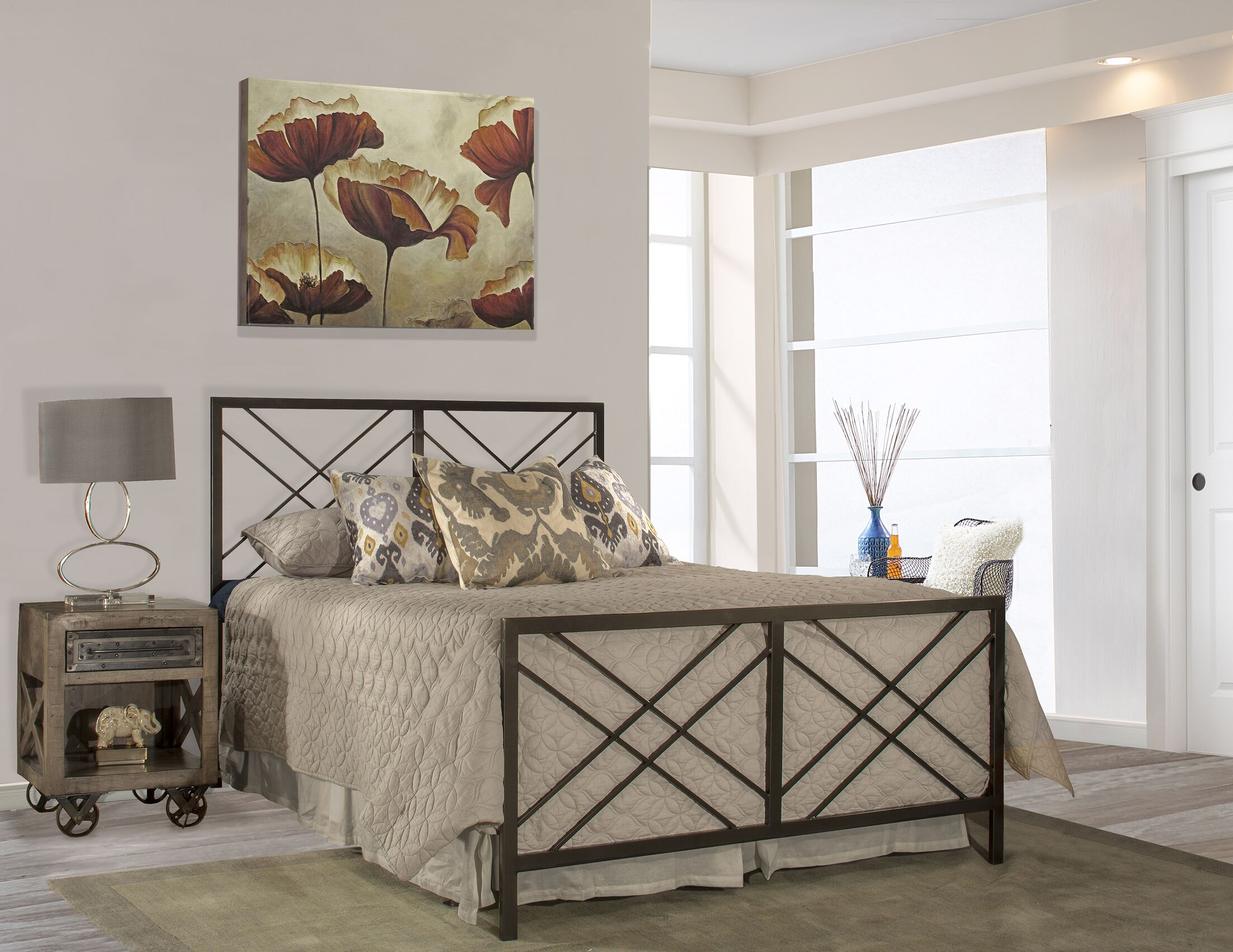 King Tuohy Panel Bed