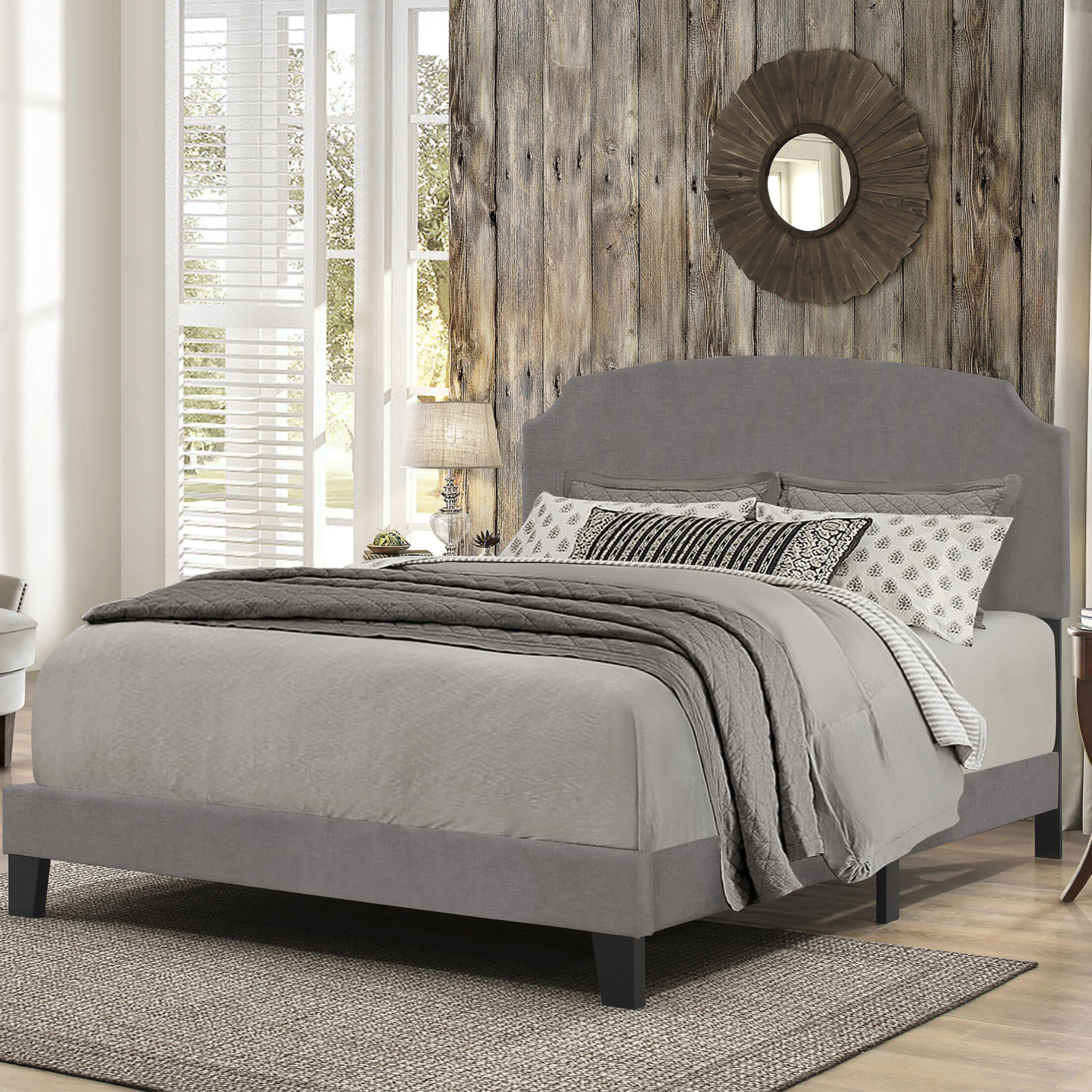 Surrey King Upholstered Panel Bed