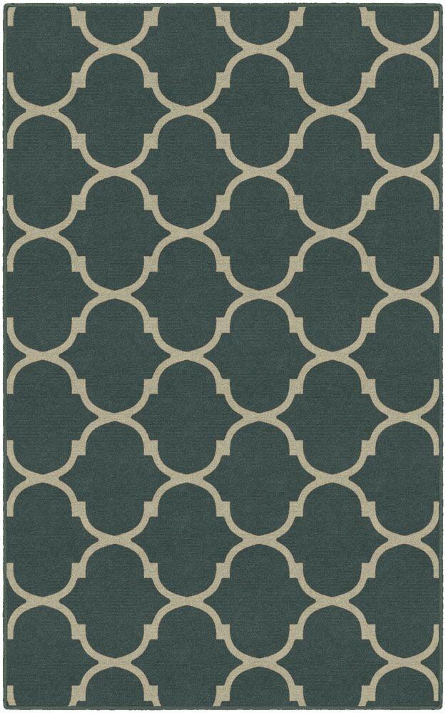 Helmsley Moroccan Trellis Lattice Gray Area Rug Rug Size: Rectangle 5' x 8'