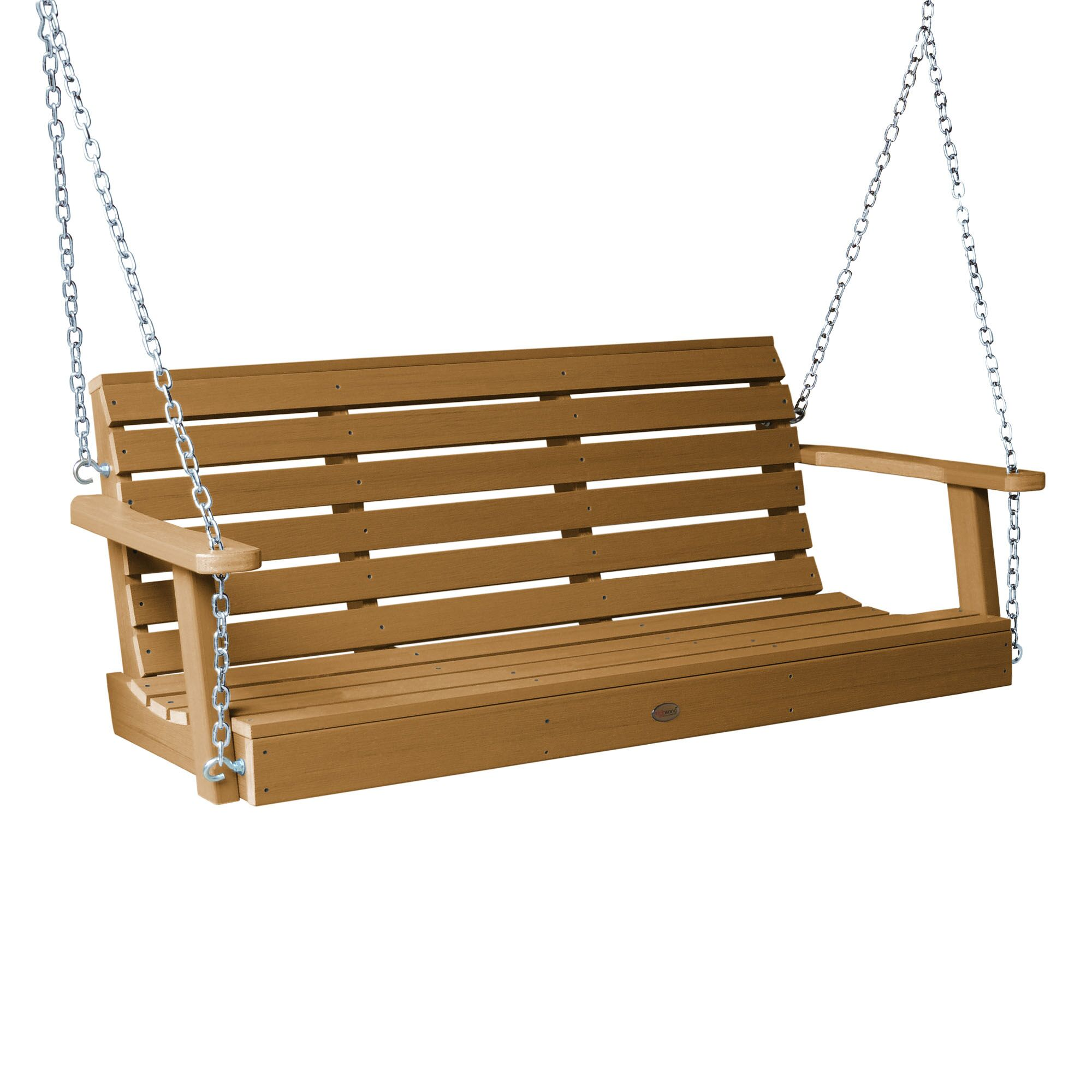 Shondra Porch Swing Finish: Toffee, Size: 22
